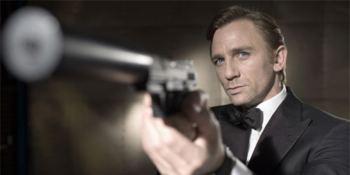 "Daniel Craig as James Bond in ""Casino Royale"" from Columbia Pictures."